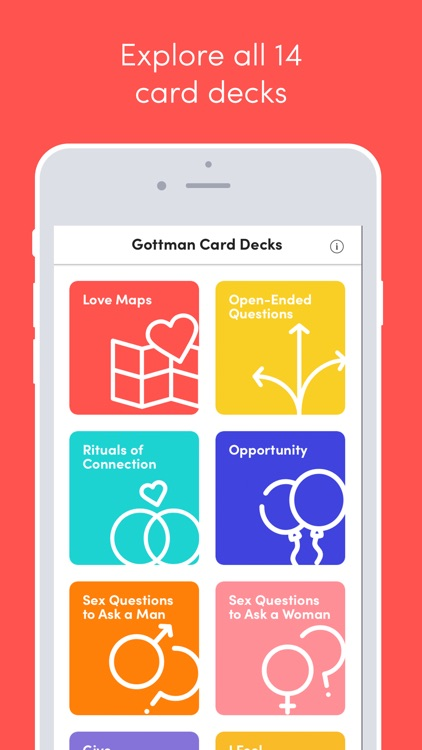 Gottman Card Decks