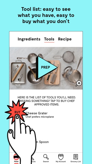 Project Foodie: Guided Cooking Screenshot