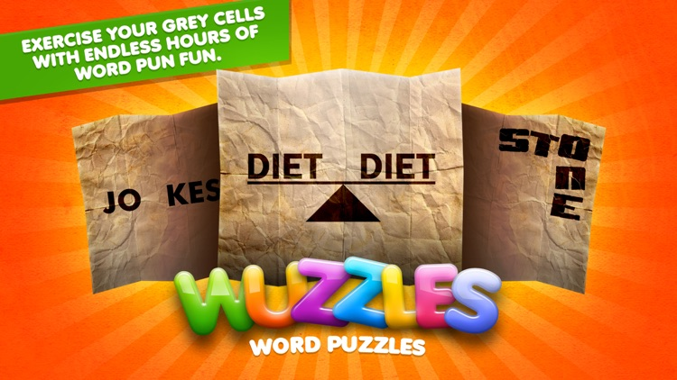Word Puzzle Game Rebus Wuzzles screenshot-0