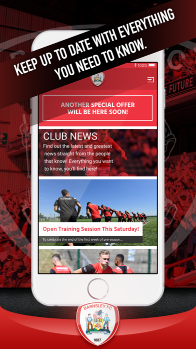Barnsley FC Fan App screenshot two