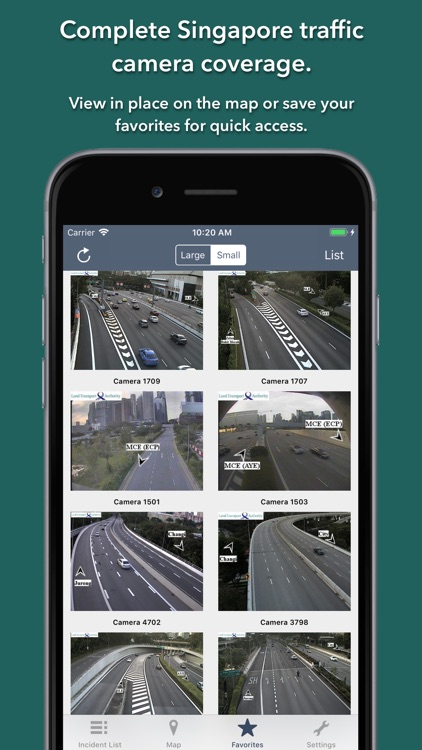 Singapore Roads Traffic screenshot-3