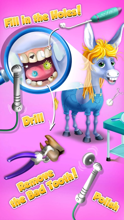 Farm Animals Hospital Doctor 3 - No Ads screenshot-3