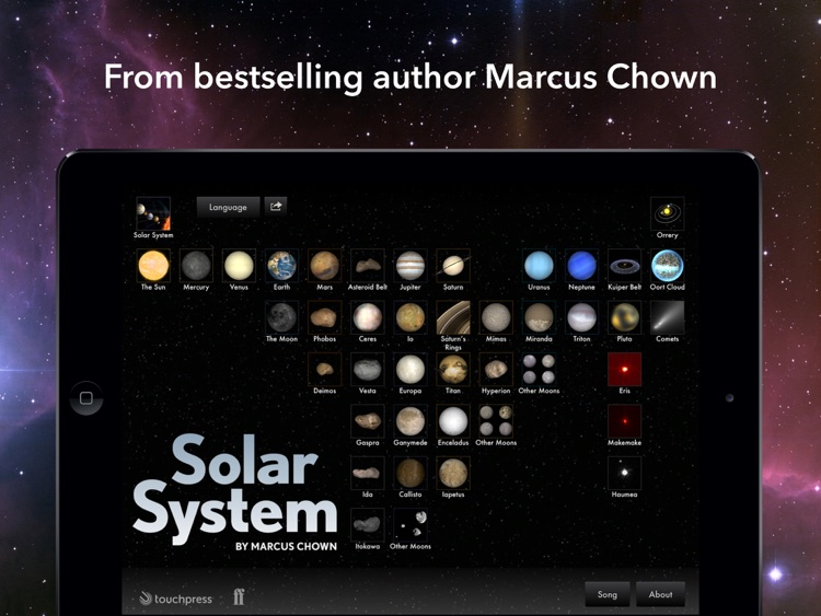 Solar System for iPad screenshot-4