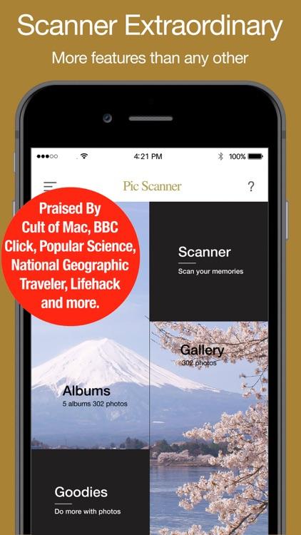 Pic Scanner Gold screenshot-0