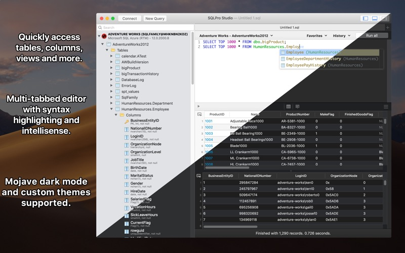 SQLPro Studio for Mac