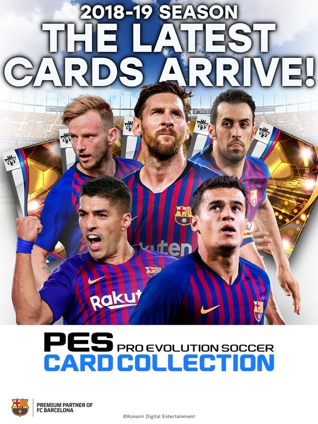 PES CARD COLLECTION Screenshot