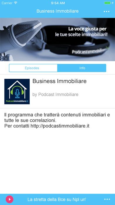 Screenshot of Podcast Immobiliare2