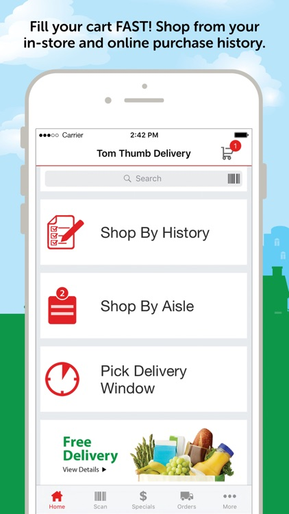 Tom Thumb Grocery Delivery