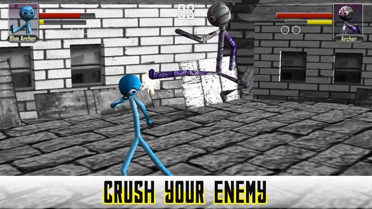 Stickman Fighter Physics 3D screenshot-4