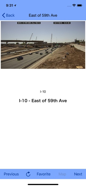 Traffic Map Phoenix Az.Phoenix Traffic Cam On The App Store