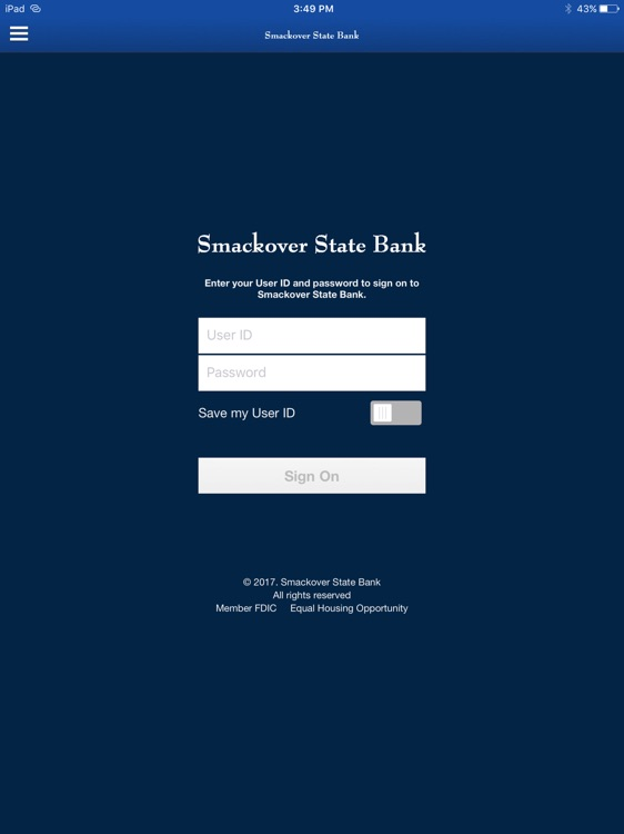 Smackover State Bank for iPad