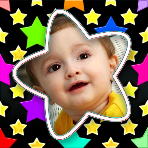 Starry Photo Frames icon