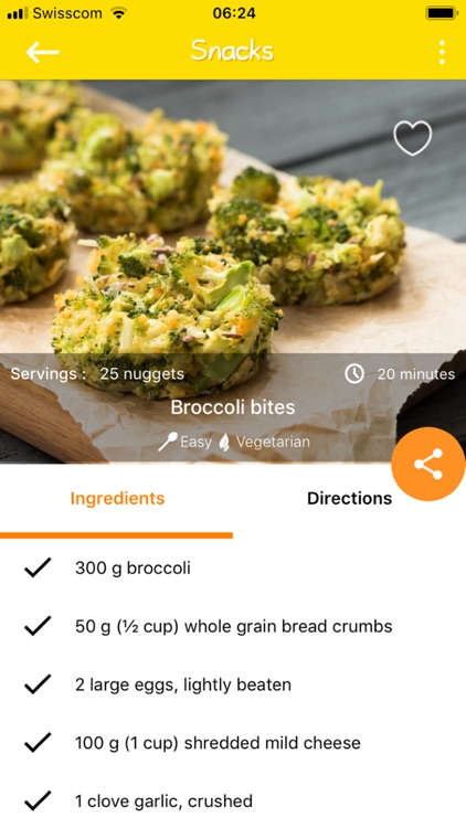 Baby Led Weaning Quick Recipes screenshot-4