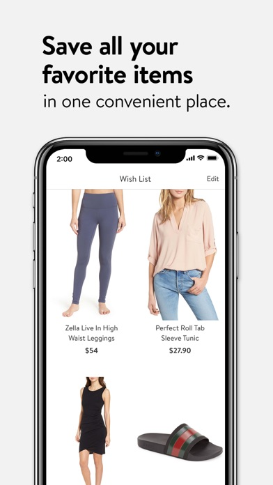 Nordstrom review screenshots