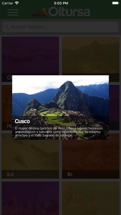 Oltursa Móvil screenshot four