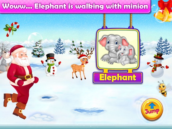 Santa Run - Learning FlashCard screenshot 11