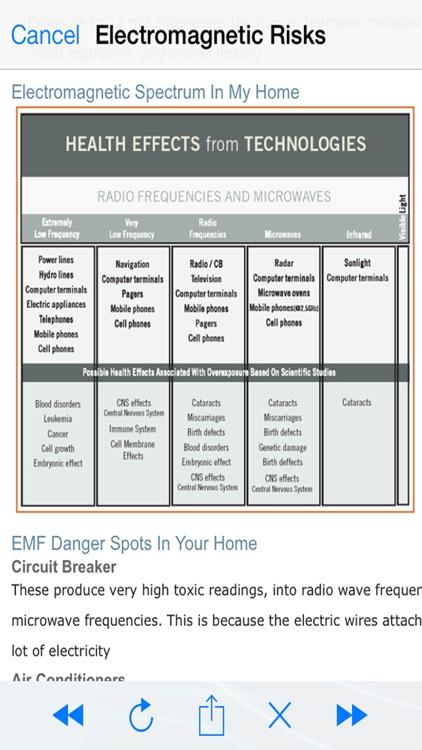Electromagnetic Detector EMF screenshot-3