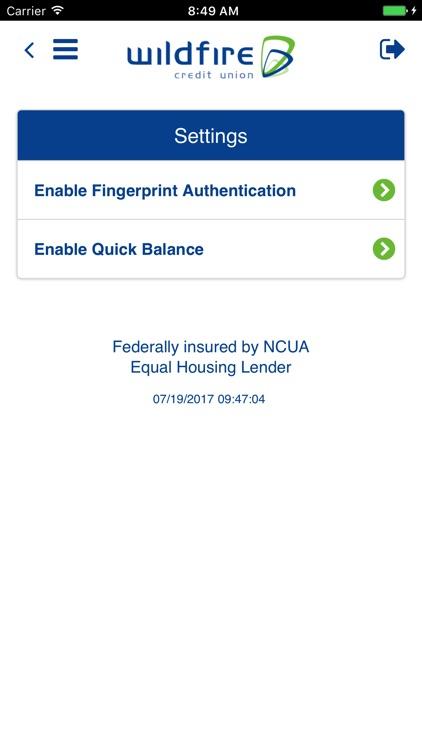Wildfire Mobile Banking screenshot-4