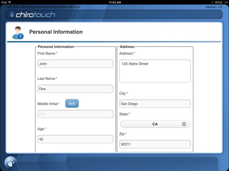 CT Intake Mobile 7.2 screenshot-3