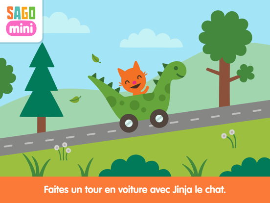 Screenshot #4 pour Sago Mini En voiture!