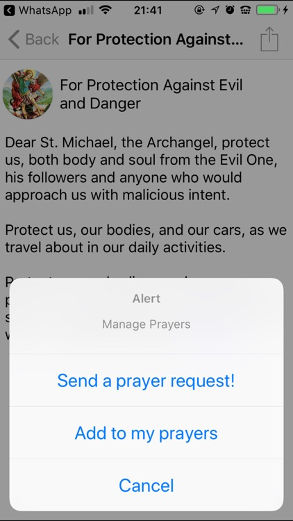 Saint Michael Prayers screenshot-4