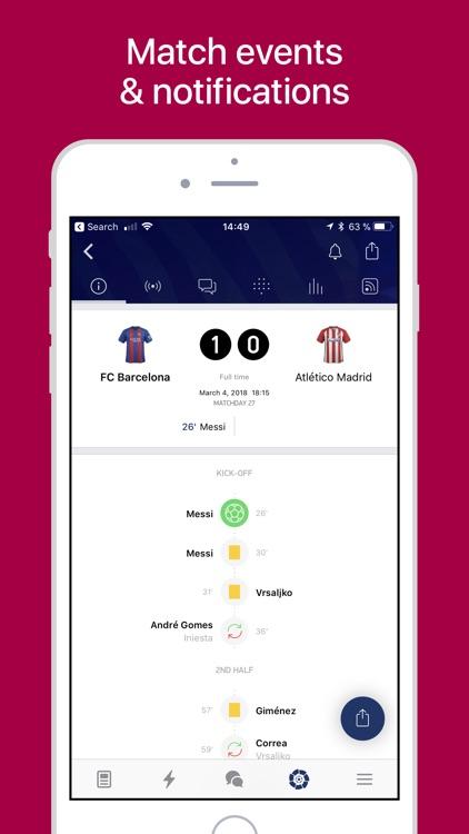 Barcelona Live — Goals & News. screenshot-3