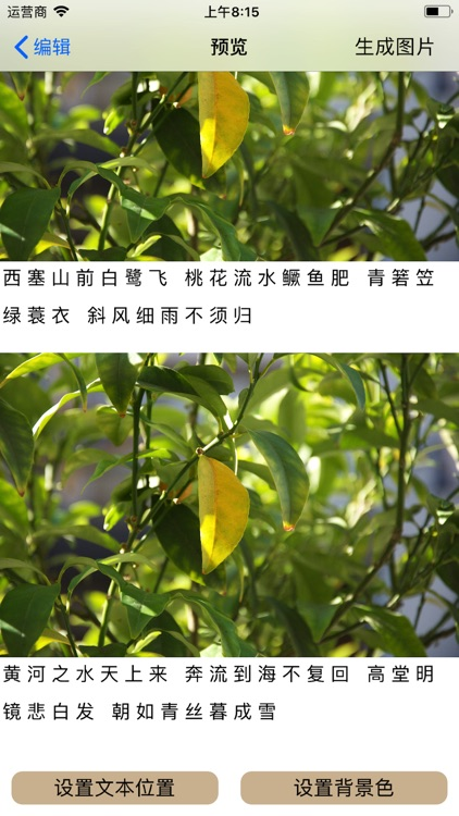 生成长图 text convert  to image screenshot-7
