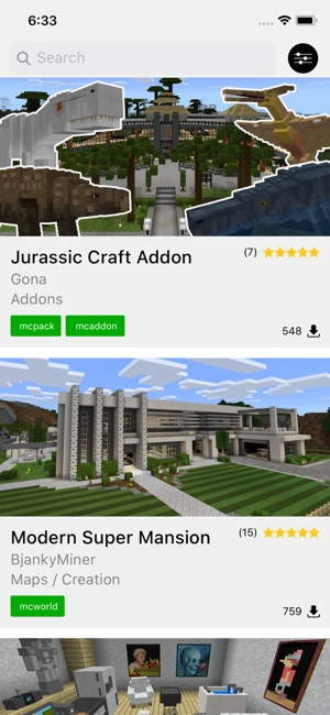 DL - Content for Minecraft on the App Store