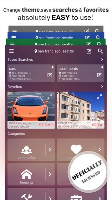 Cplus For Craigslist App Screenshots