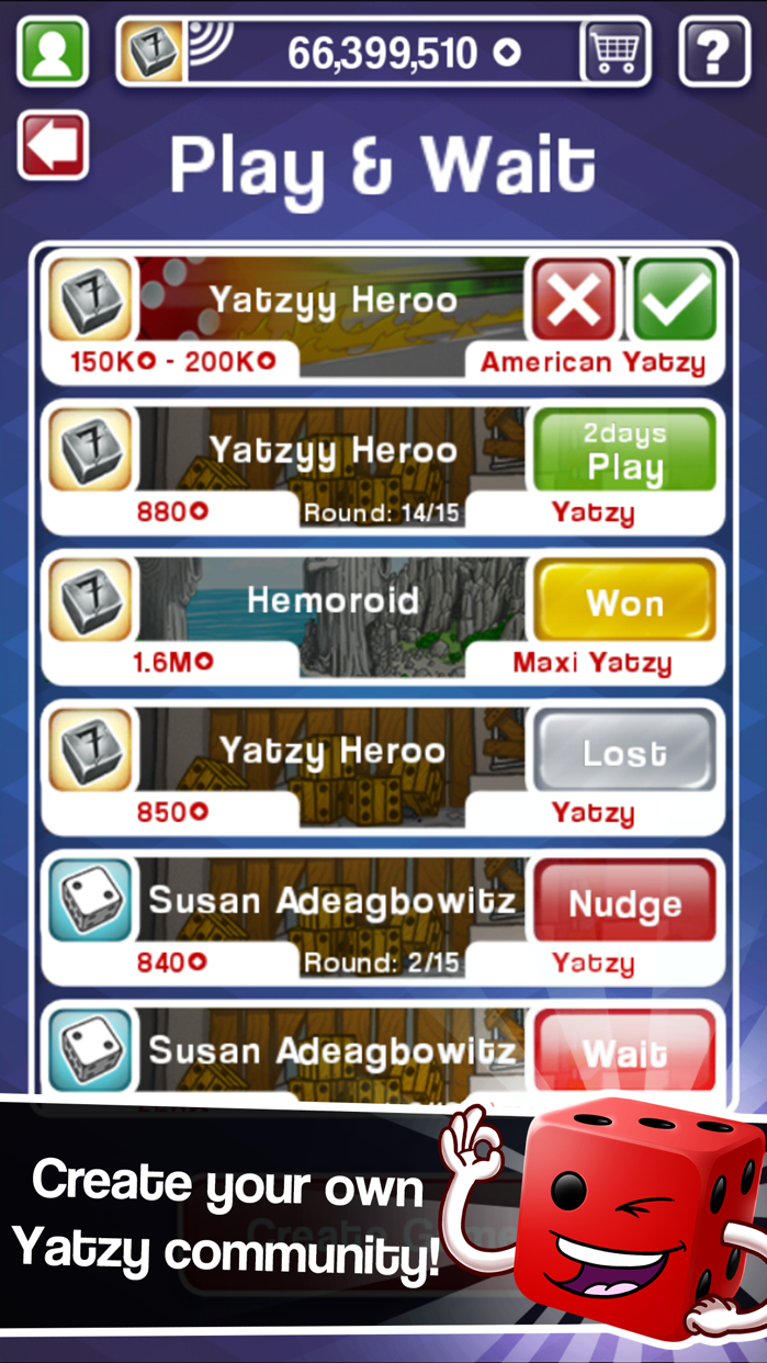 Yatzy Ultimate Lite Screenshot
