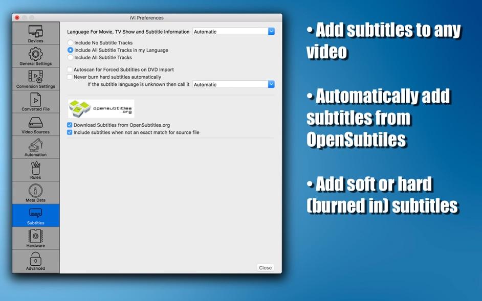 iVI 4 Mac 破解版 优秀的视频转换和视频信息编辑应用-麦氪派