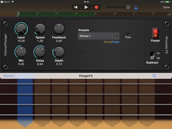 Flanger AUv3 Plugin screenshot 5