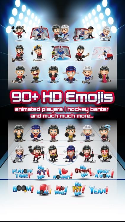 Hockey Emojis Nation