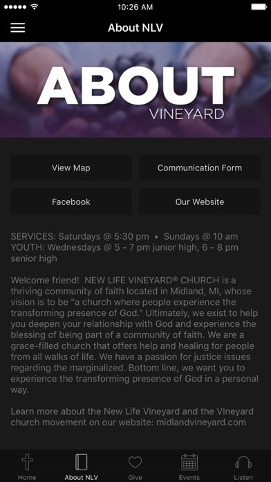 New Life Vineyard screenshot 2