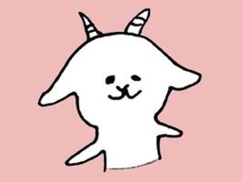 White goat YAGIKICHI