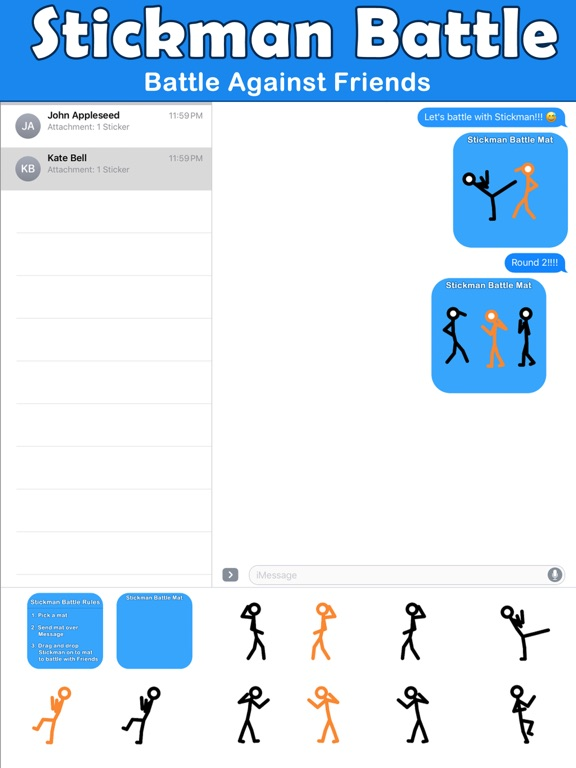 Animated Stick Man Battles screenshot 6
