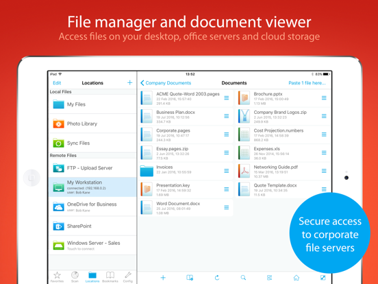 FileBrowser for Business Скриншоты7