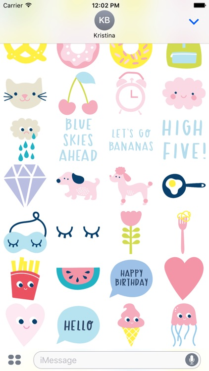 kikki.K Stickers screenshot-2