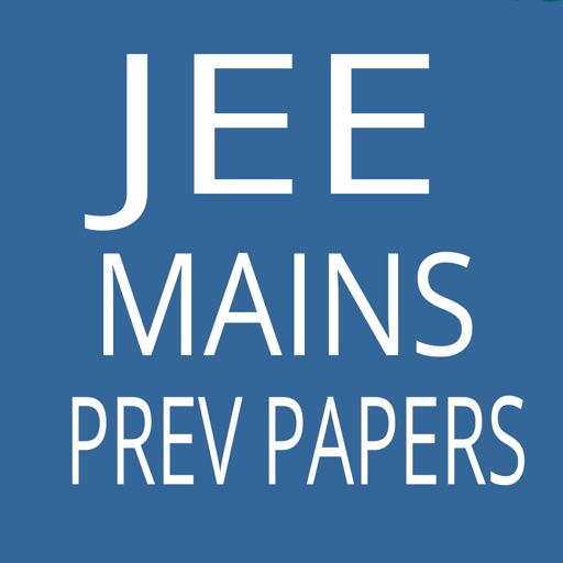 JEE Mains Previous Papers