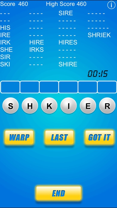 Word Warp - A Word Puzzle Game Скриншоты3