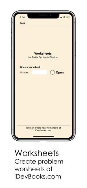 Partial Quotients Division On The App Store
