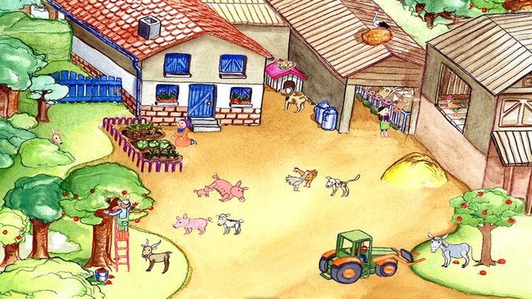 My Zoo Animals: Toddler's Seek & Find Book screenshot-4