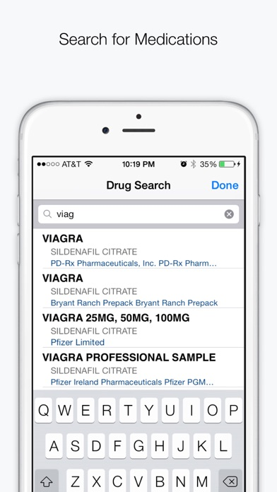 Drugs Medications Pro review screenshots