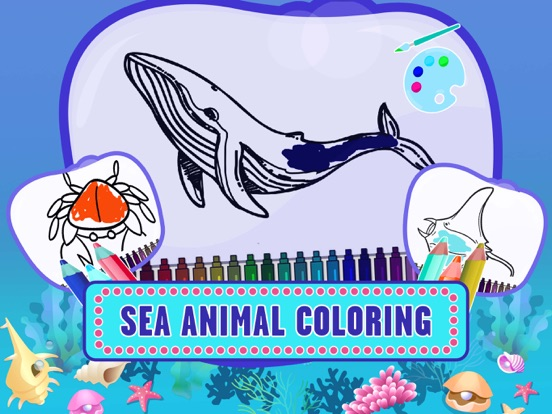 iPad Image of Learning Sea World Animal Game
