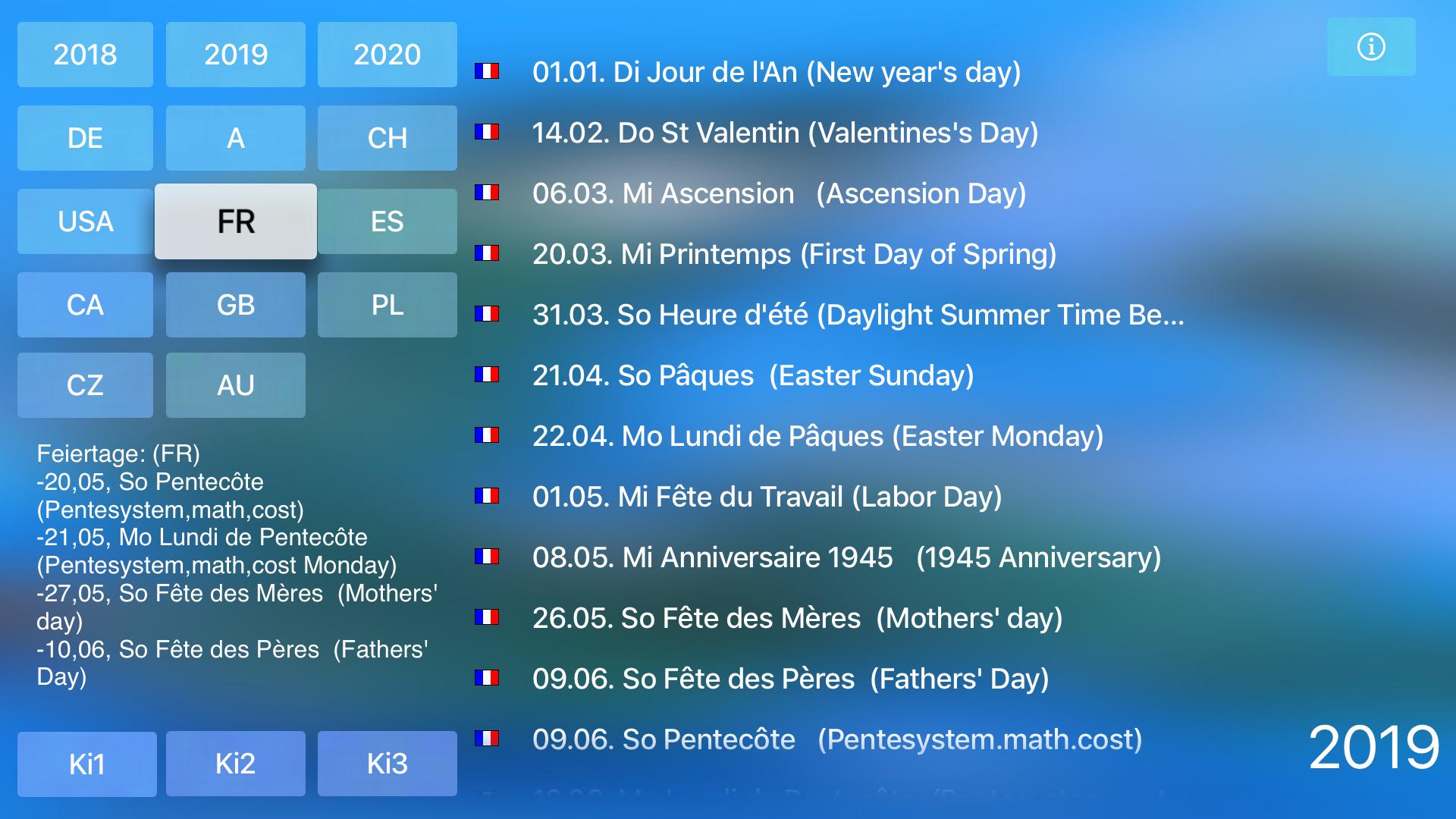 Holidays for TV screenshot 5