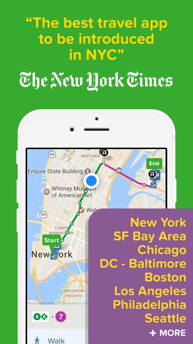 download Citymapper Transit Navigation apps 5