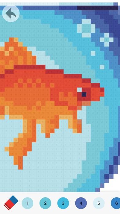 Pixelmania - 大人のための塗り絵スクリーンショット3