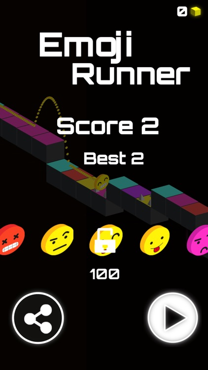 Emoji Runner Tap & Jump Games screenshot-2