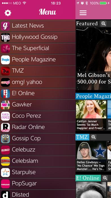 iGossip News - Celebrity Rumors, Photos and Videos screenshot two