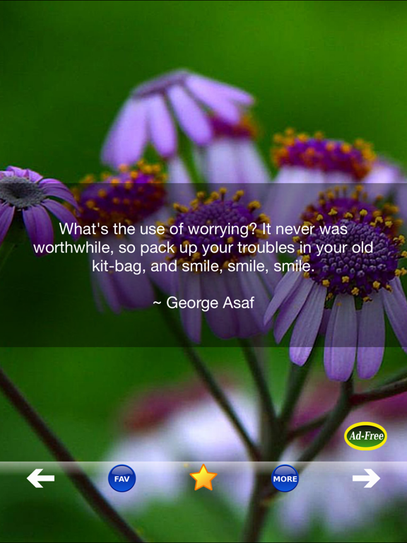 Anti-Stress Quotes! Stress Relief & Anxiety Relief Free App for Mental Health screenshot